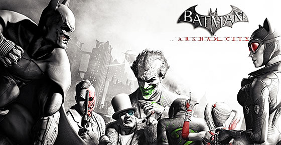 Arkham City Game Cover