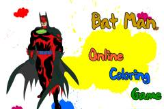 Batman Online Coloring Game