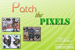 Batman Patch The Pixels