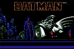 Batman Video Game - Nintendo 1989