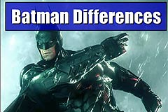 Batman Find Differences - Find 5 Spots On Two Pictures