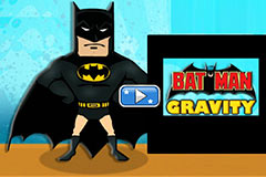 Batman Gravity Adventure - Flash Physics Game - Get Gravity Work For You