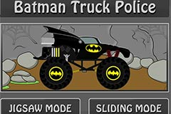 Batman Truck Police - Jigsaw Game