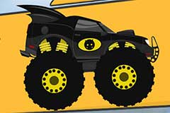 Monster Bat Truck Superhero