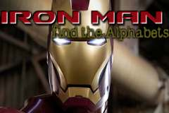 Ironman find the Alphabets