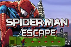 Spiderman Escape Robot City
