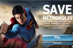 Superman Save Metropolis