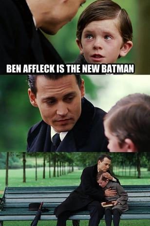 What do you think about Ben Affleck as Batman?