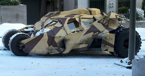 Dark Knight Rises Tumbler