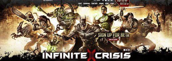 Infinite Crisis Game Cover
