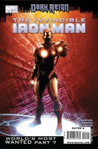 Image of Iron Man Comics Cover