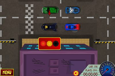 Superhero Racers screenshot