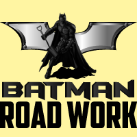 Batman Road Work game logo