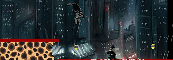 Batman Dark Jump: gameplay