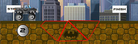 Batman Road Work level 2 solution