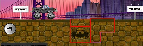 Batman Road Work level 4 solution