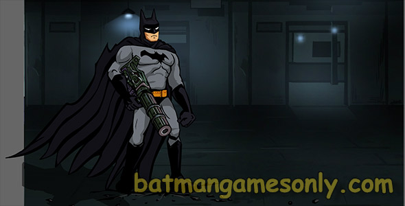 image of Batman shoot em up gun