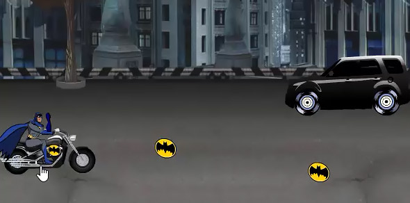 image of Batman Street War: black car enemy