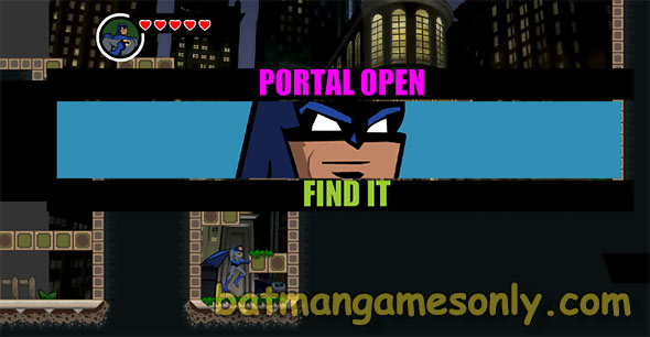 image of Batman Super Kick: portal is open - find it!