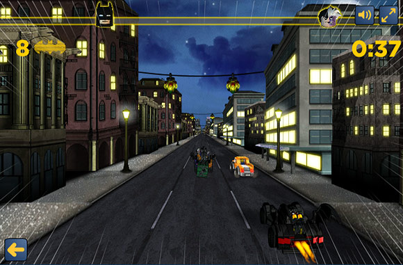 Batman Two Face Lego Racing