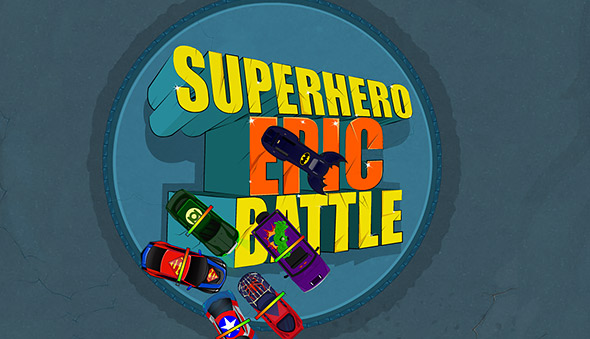 Superhero Epic Battle: Screenshot