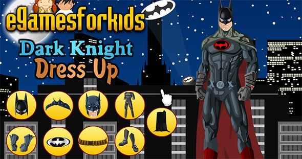 Batman Dark Knight Dressup gameplay