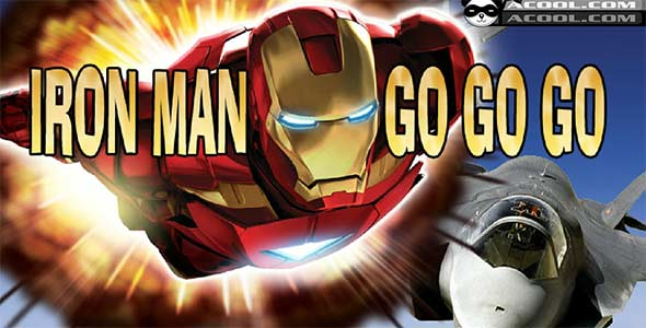 image of Iron Man Go Go Go game poster