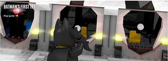 Lego Batman First Try online game