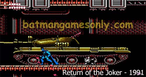 image of Batman 1991 game: Return of the Joker