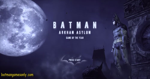 image of Batman Arkham Asylum game cover