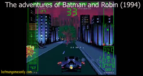 image of Batman And Robin adventures game from 1994