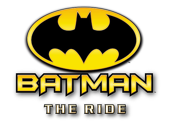 image of Batman The Ride logo