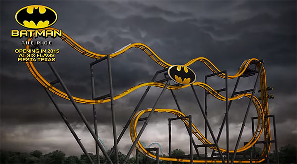 image of Batman The Ride poster