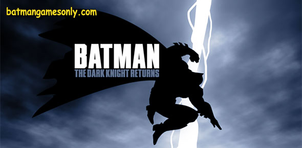 image of Dark Knight Returns animated film poster