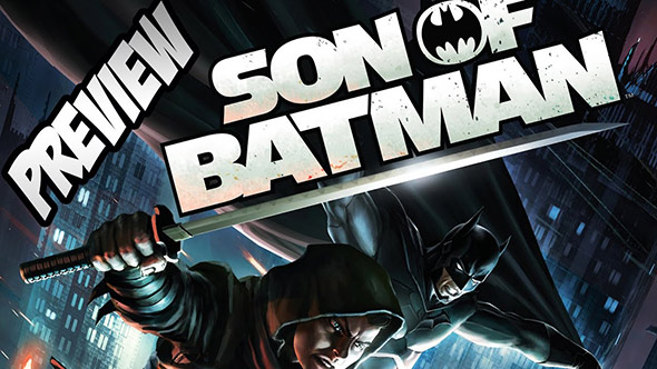 son of batman movie logo