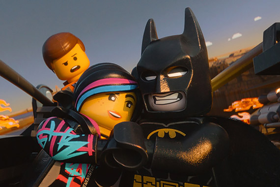 The Lego Movie Batman with friends